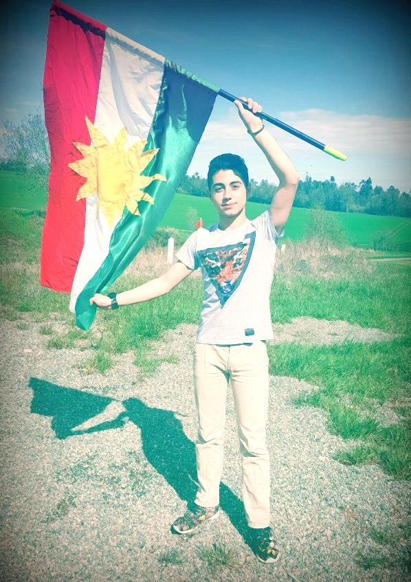drapeau kurde
