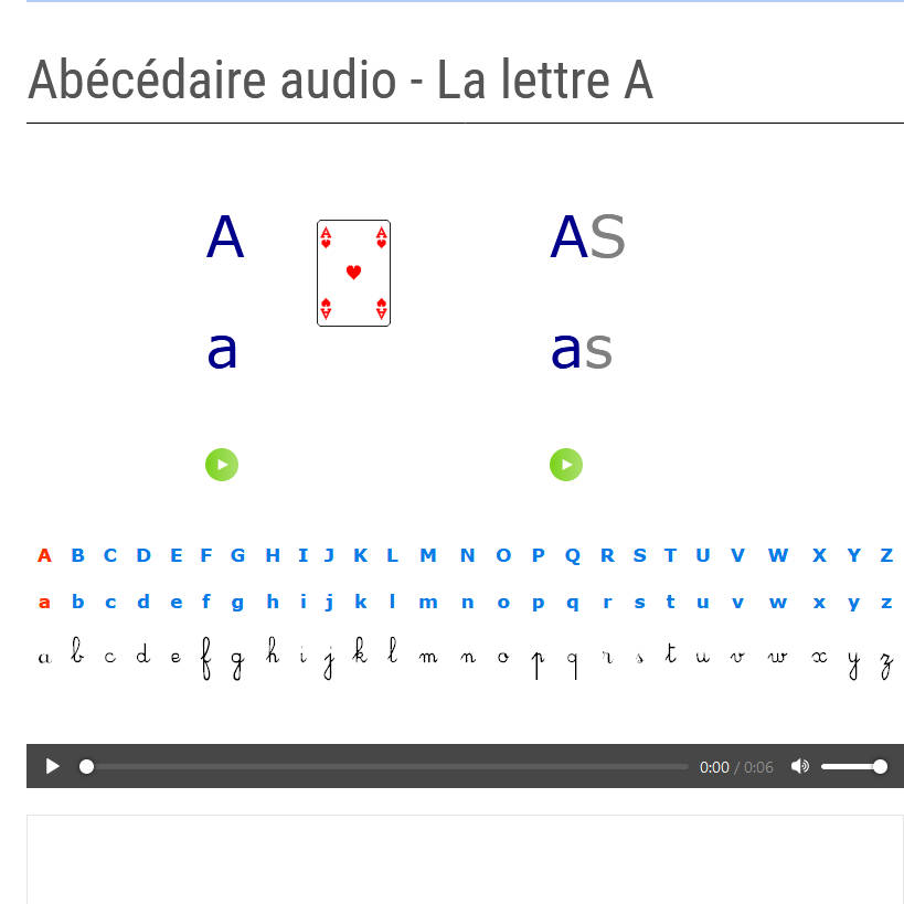 AlphaLire Alphabet